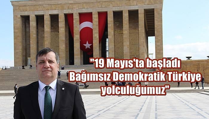 CHP Çanakkale Milletvekili Ceylan'dan 19 Mayıs Mesajı