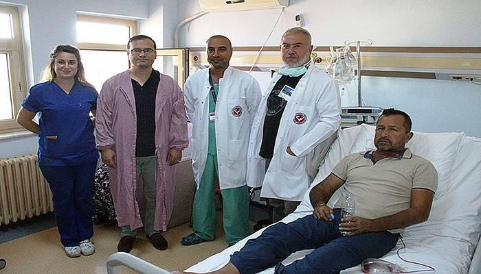 5 yıl sonra organ nakli ile sağlığına kavuştu (VİDEO)