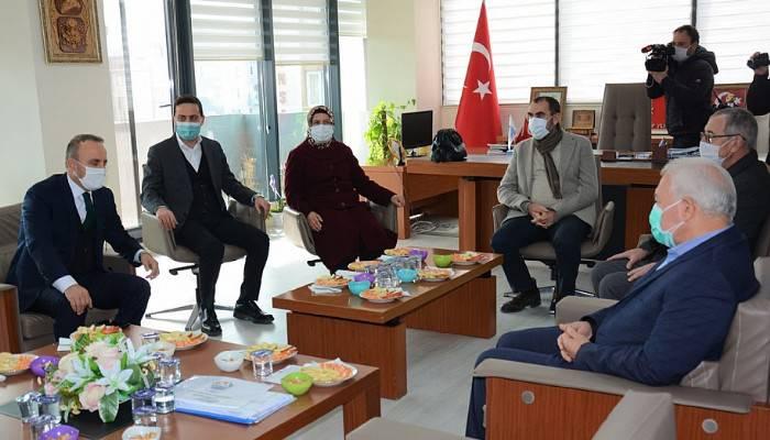 Turan'dan Lapseki Belediyesine Ziyaret