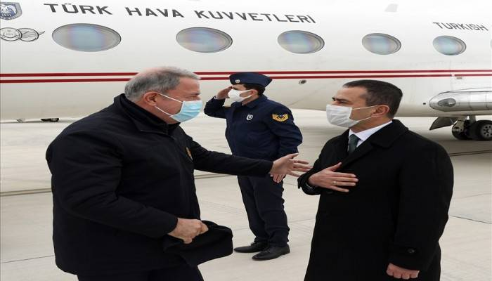 Millî Savunma Bakanı Hulusi Akar Çanakkale'de (VİDEO)