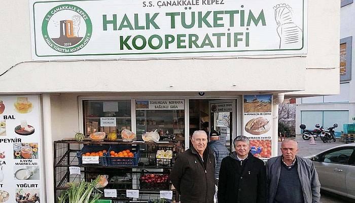 Başkan Yardımcısı Mutluay, Kepez Halk Tüketim Kooperatifinde İncelemelerde Bulundu