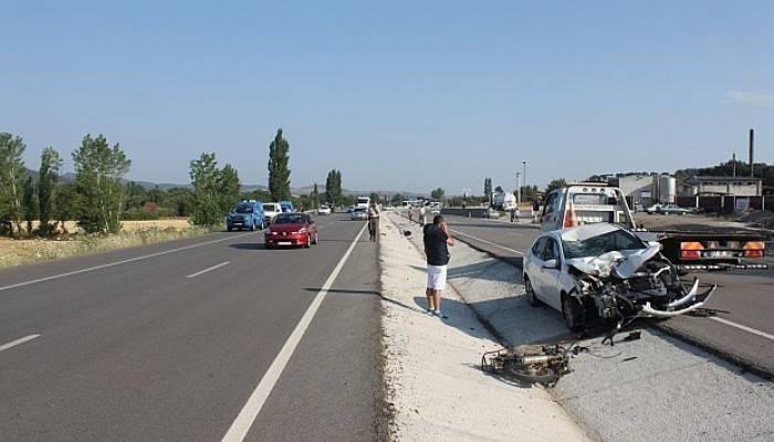 Çanakkale - İzmir yolunda kaza: 1 ölü