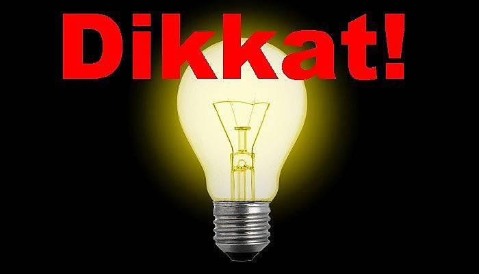 Çanakkale'nin bazı bölgelerinde elektrik kesintisi yaşanacak