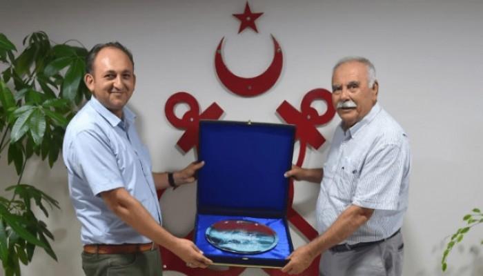 Başkan Gökhan'dan Liman Başkanına İade-i Ziyaret