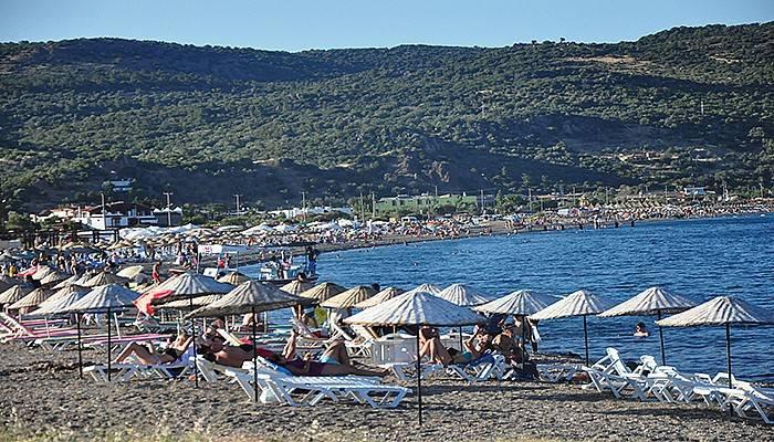 Bayram tatili Assos'a yaradı