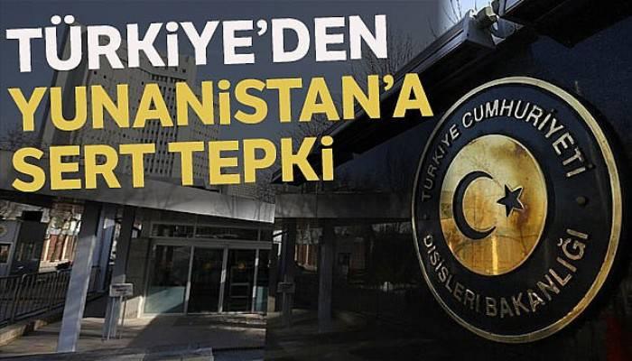 Dışişleri Bakanlığından Yunan başbakana sert tepki
