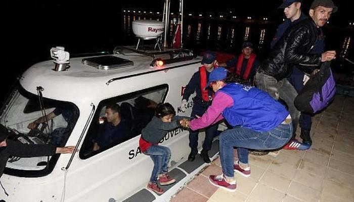 Çanakkale'de 29 kaçak yakalandı (VİDEO)