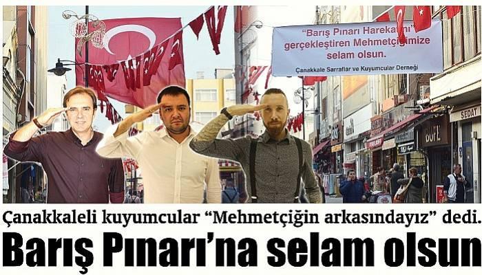 Kuyumculardan Mehmetçiğe destek
