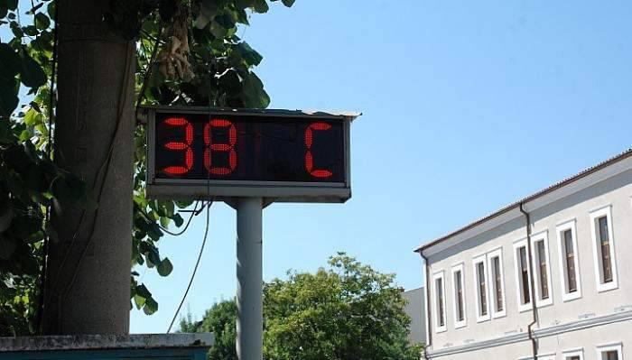 Sıcaklık arttı sokaklar boş kaldı