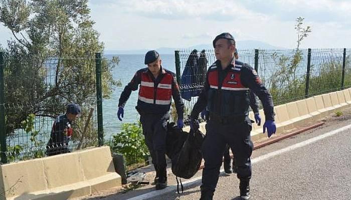 Ayvacık'ta kıyıya vurmuş çocuk cesedi bulundu (VİDEO)