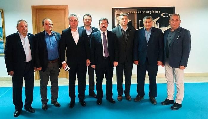 Ziraat Odaları Başkanları Vali Orhan TAVLI'yı Ziyaret Etti