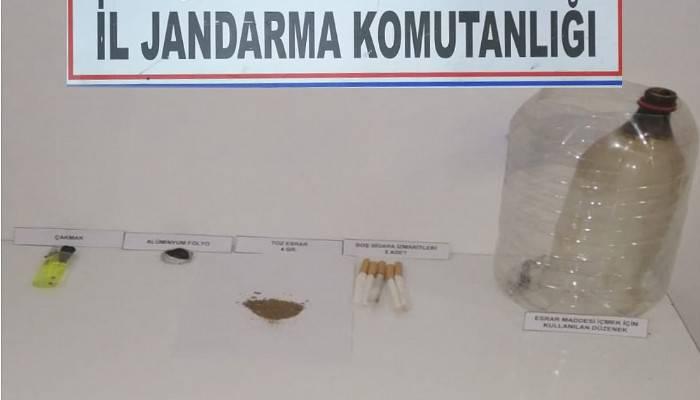 Çanakkale'de uyuşturucuya 3 gözaltı