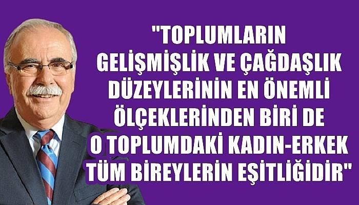 Başkan Gökhan'ın 5 Aralık Kadın Hakları Günü mesajı