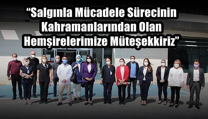 AK Parti Çanakkale Hemşireler Gününü Kutladı