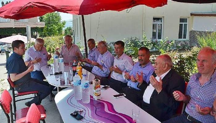 Bayırköy köyü hayrı yapıldı