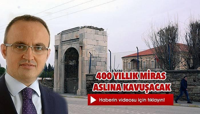 Zühre Kapısı Gelibolu Mevlevihanesi'ne Kazandırılıyor