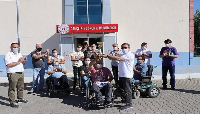 Çanakkale Boğazgücü Engelliler Gençlik ve Spor Kulübü yeniden 1.Lig'de