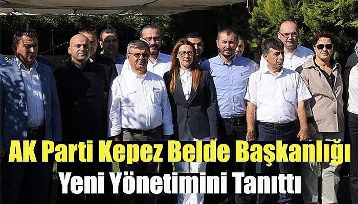 AK Parti Kepez Belde Başkanlığı Yeni Yönetimini Tanıttı