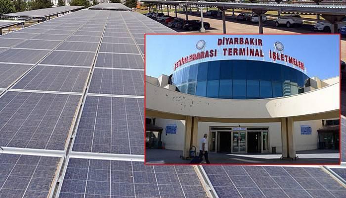 İşte Türkiye'nin ilk güneş enerjili otogarı