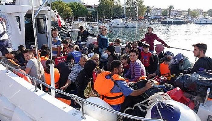 Çanakkale'de 118 kaçak göçmen yakalandı