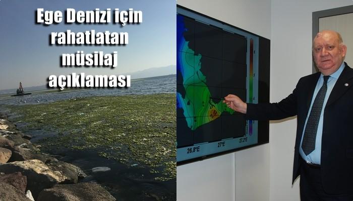 Ege Denizi için rahatlatan müsilaj açıklaması: 'Müsilajın Çanakkale Boğazı'nı geçerek Ege Denizi'nin tamamını kaplamasını beklemiyoruz' (VİDEO)