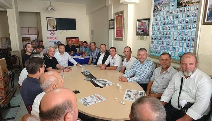 TSO HEYETİNDEN MUHTARLAR DERNEĞİ'NE ZİYARET
