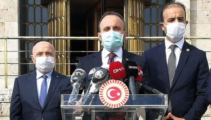 Sağlıkta şiddetin engellenmesine yönelik yasa teklifi, Meclis'e sunuldu
