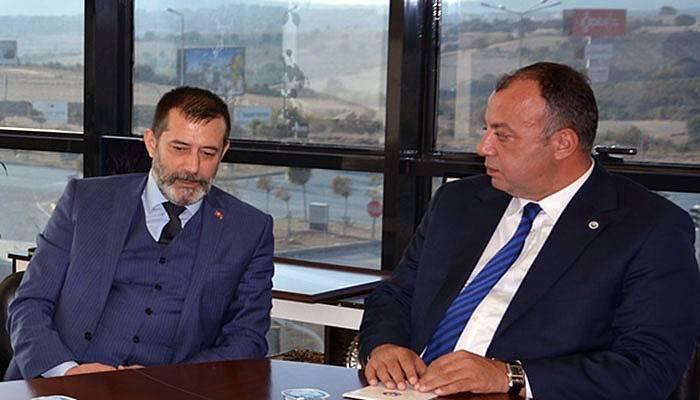 MHP İl Yönetiminden ÇTSO'ya ziyaret