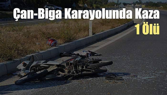 Vidanjörün altına giren motosiklet sürücüsü öldü