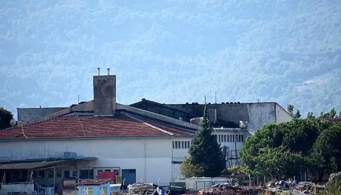 Çanakkale Açık Cezaevi'nin yanan çatısı onarılacak