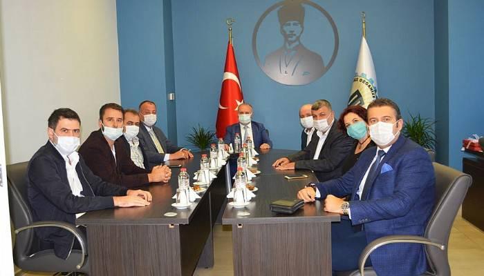 ÇTSO yönetim kurulundan OSB yeni yönetimine ziyaret