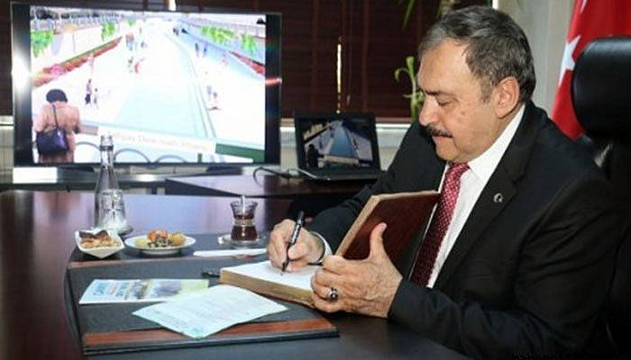 Bakan Eroğlu, Çanakkale için imzayı attı
