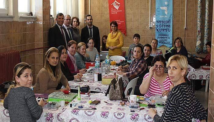 Çanakkale İŞKUR'dan bayanlara yönelik mesleki eğitim kursu