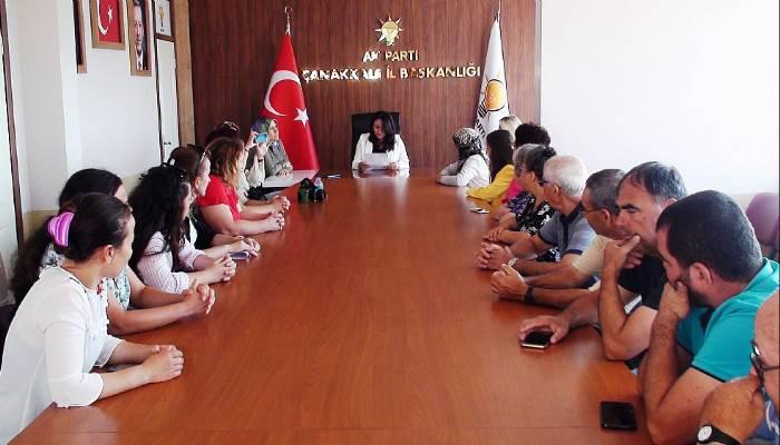 AK Parti Çanakkale Kadın Kollarından 'Srebrenitsa katliamı' açıklaması