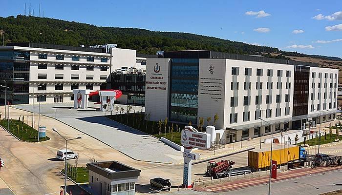 Çanakkale'nin yeni hastanesi faaliyete başlıyor!