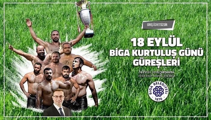 KIRKPINAR BİGA'YA GELİYOR