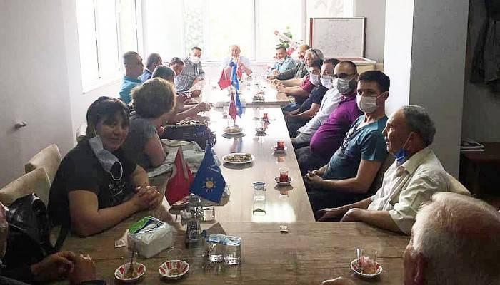CHP Biga Yönetimi'nden İYİ Parti Ziyareti