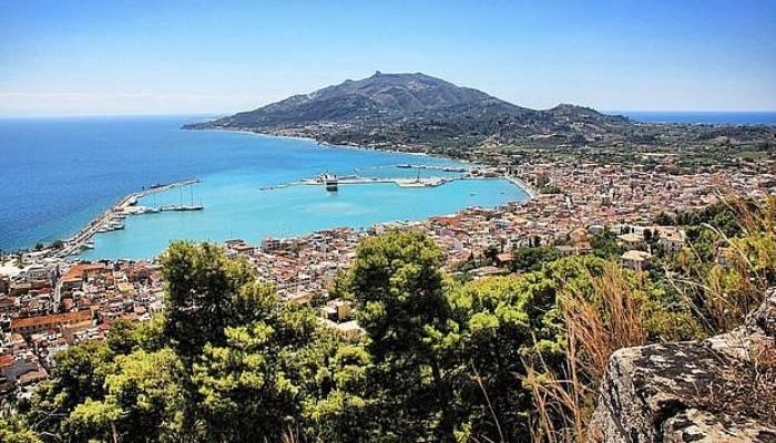 Karşımızdaki Avrupa şehri Midilli Adası