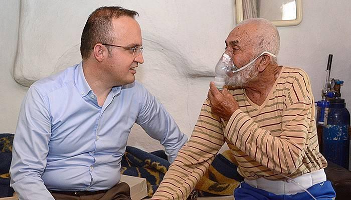 Turan'dan hasta ve yaşlı ziyareti