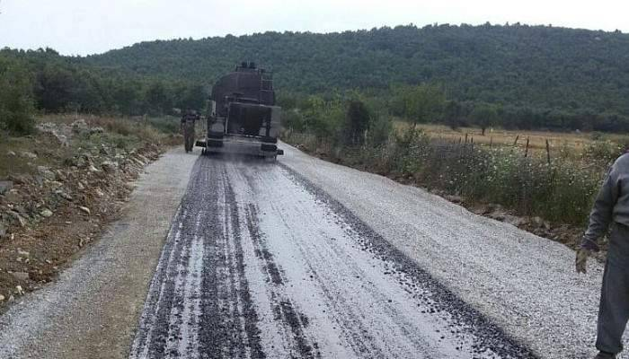 Çanakkale'de 1 ayda 40 km asfaltlama yapıldı
