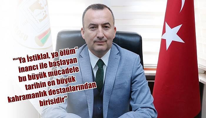 Baro Başkanı Şarlan'dan 19 Mayıs Mesajı