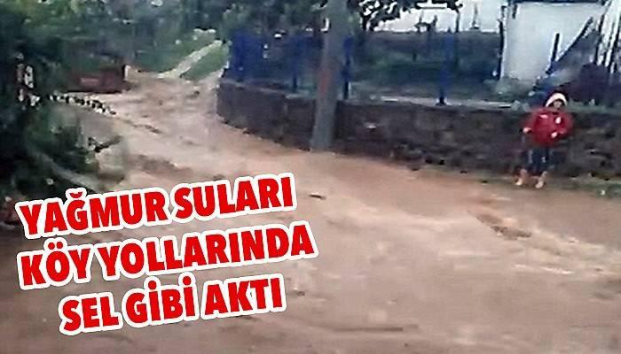 Çan'ın köylerinde sel tehlikesi! (VİDEO)