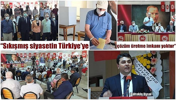 'Sıkışmış siyasetin Türkiye'ye çözüm üretme imkanı yoktur'