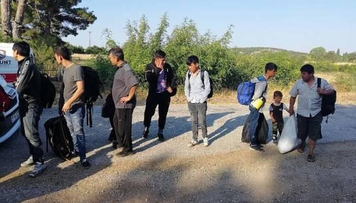 Çanakkale'de 51 Kaçak Göçmen Yakalandı