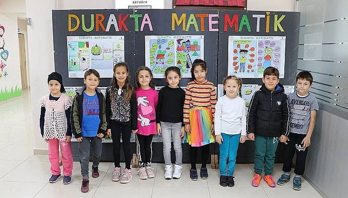 İlkokul öğrencilerinden, 'Durakta Matematik' klibi (VİDEO)