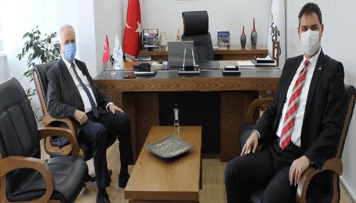 Başkan Gökhan İŞKUR'a konuk oldu