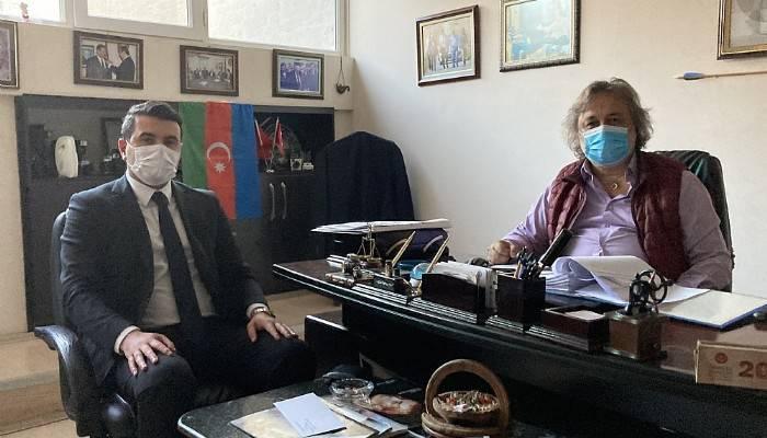 Deva Partisi İl Başkanından Boğaz Medya'ya ziyaret