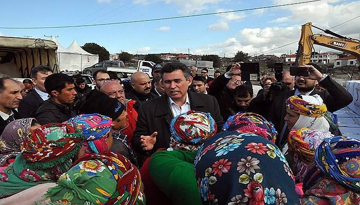 TBB Başkanı Feyzioğlu deprem bölgesinde (VİDEO)