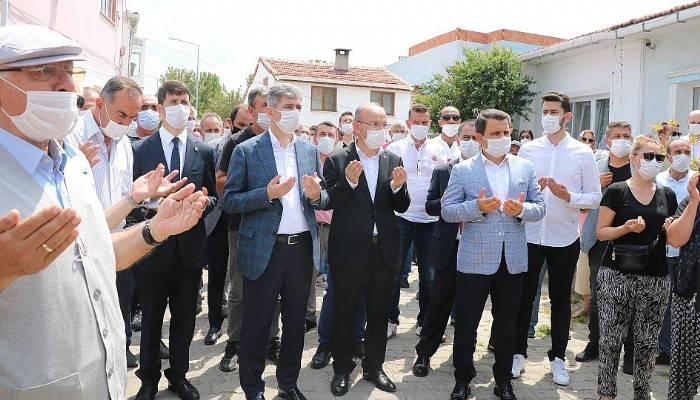 İçişleri Bakan Yardımcısı İnce, eski makam şoförünün cenazesine katıldı