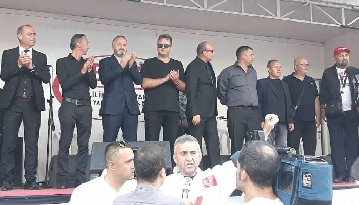 Çanakkale EYT Ankara'daydı